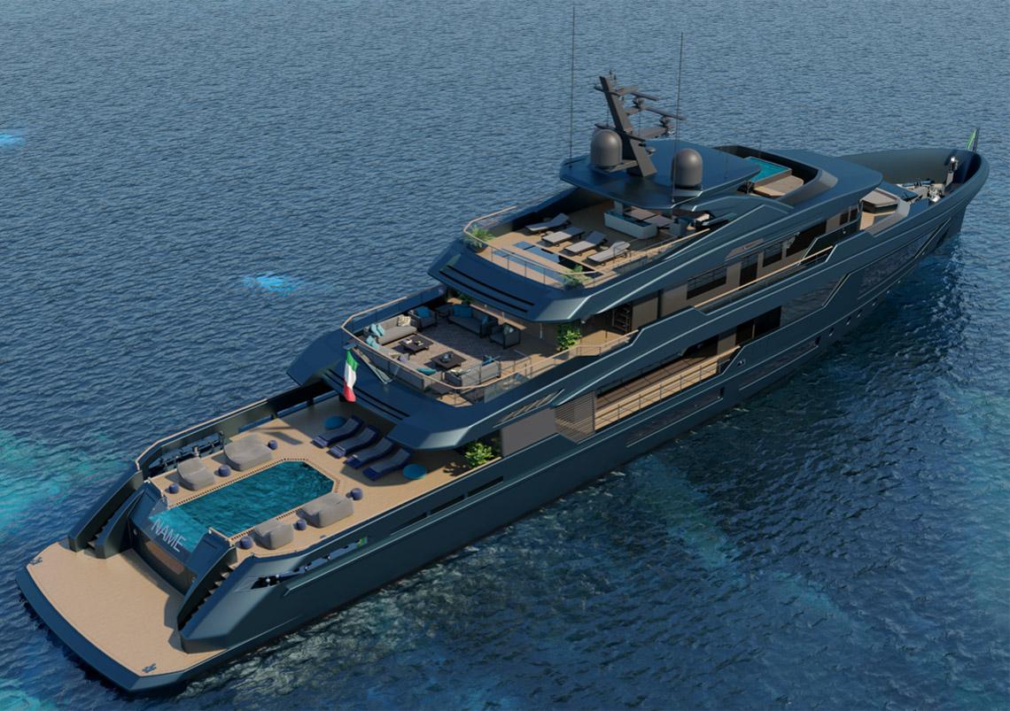 Mondomarine Discovery 57m - LUCA DINI Design & Architecture